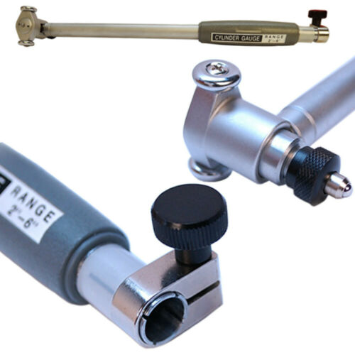 2 to 6/'/' Dial Indicator Bore Gage Set0005 GRAD Gauge Engine Cylinder Hole