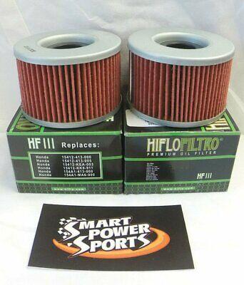 HiFlo Oil Filter for Honda ATV 6 Pack Side x Side - HF111 Motorcycle