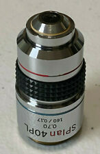 Olympus Splan 40 Pl 070 160 017 Phase Contrast Microscope Objective