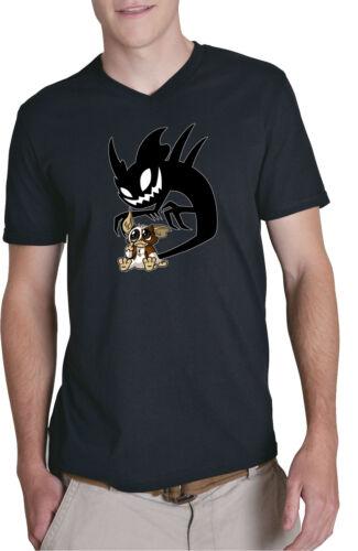 Bad Gizmo V-Neck T-Shirt Blackmogwai schatten, gremlins