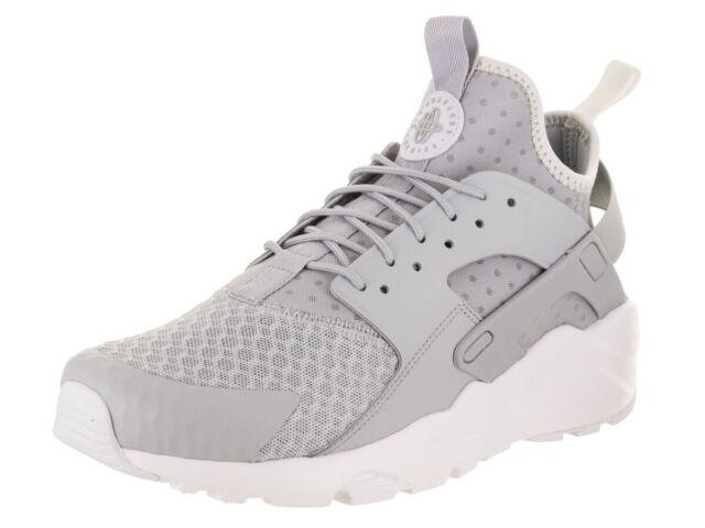 30612e9e01336 Nike Air Huarache Run Ultra Mens 819685-007 Pale Grey Running Shoes ...