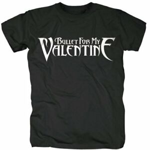 Bullet-For-My-Valentine-039-Logo-039-T-Shirt-NEW-amp-OFFICIAL