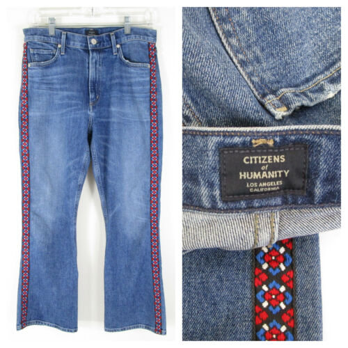 Citizens of Humanity Womens High Rise Demy Cropped