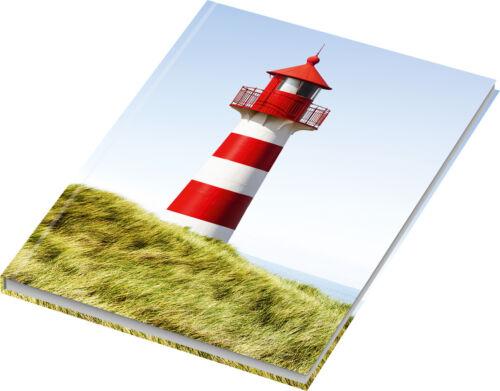 """/""""Leuchtturm/"""" 70g//m² Kladde liniert 96 Blatt DIN A5 Notizbuch"""
