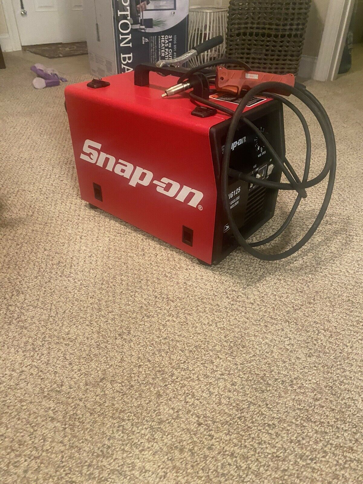 snap on welder. Available Now for 1200.00