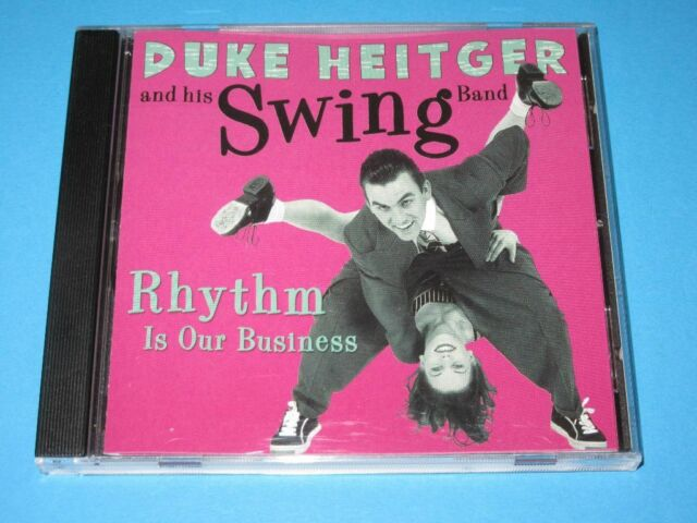 Duke Heitger And His Swing Band / Rhythm Is Our Business (GER 2000) - CD