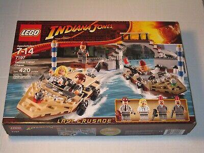 *BRAND NEW* Lego Indiana Jones Last Crusade Venice Canal Chase 7197