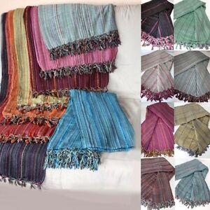 nomaden tagesdecke bett berwurf beduinen decke jurte multicolor ethno indien ebay. Black Bedroom Furniture Sets. Home Design Ideas