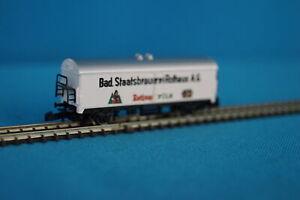 Marklin-8646-DB-Reefer-Beer-Car-Bad-Staatsbrauerei-Rothaus-Z-Mini-Club