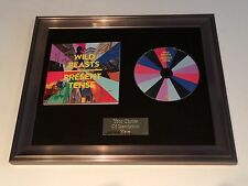 PERSONALLY SIGNED/AUTOGRAPHED WILD BEASTS - PRESENT TENSE FRAMED CD PRESENTATION