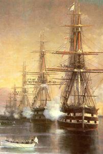 Oil-painting-Ivan-Constantinovich-Aivazovsky-Seascape-The-landing-to-Subashi