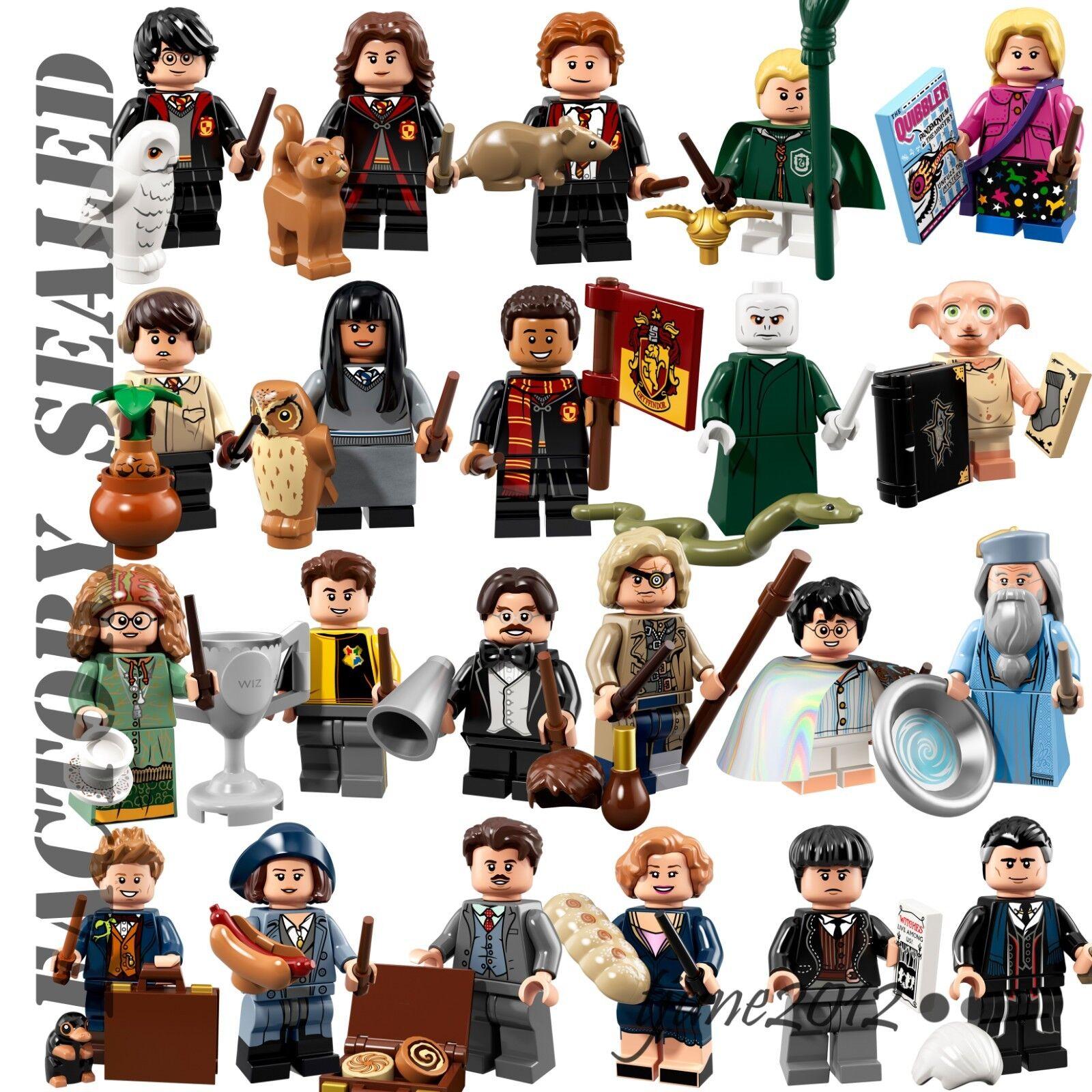 Lego, Harry Potter, Besteias fantásticas, 22 personajes, 71.022 sellados.
