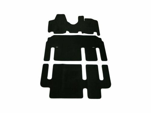 07-16 Tailored Premium Black Carpet Mats 3 Floor Mat for Peugeot Expert Tepee