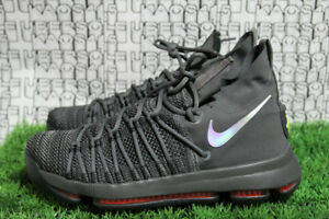 timeless design 30eab 227e6 Details about Nike Zoom KD9 Elite TS EP Grey Warriors KD 9 8 7 6 5 4 3 2 1  909140-013 MEN 10.5