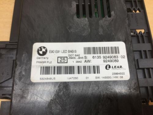 Genuine BMW Light Control Module FRM3R PL2 3 Series E90 E91 LED Basis 9249083