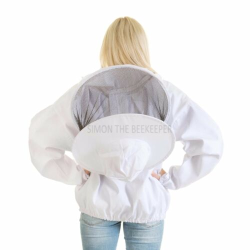Beekeepers White Round Veil Jacket Size Childs L
