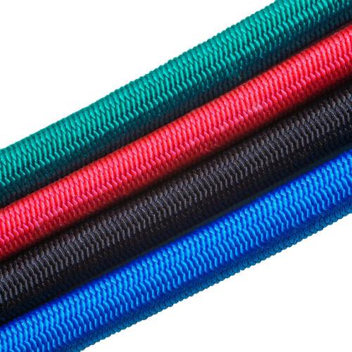 8 Mm Corde En Caoutchouc 1,20 €//m Planenseil Rouge Bleu Vert Noir Corde en Caoutchouc