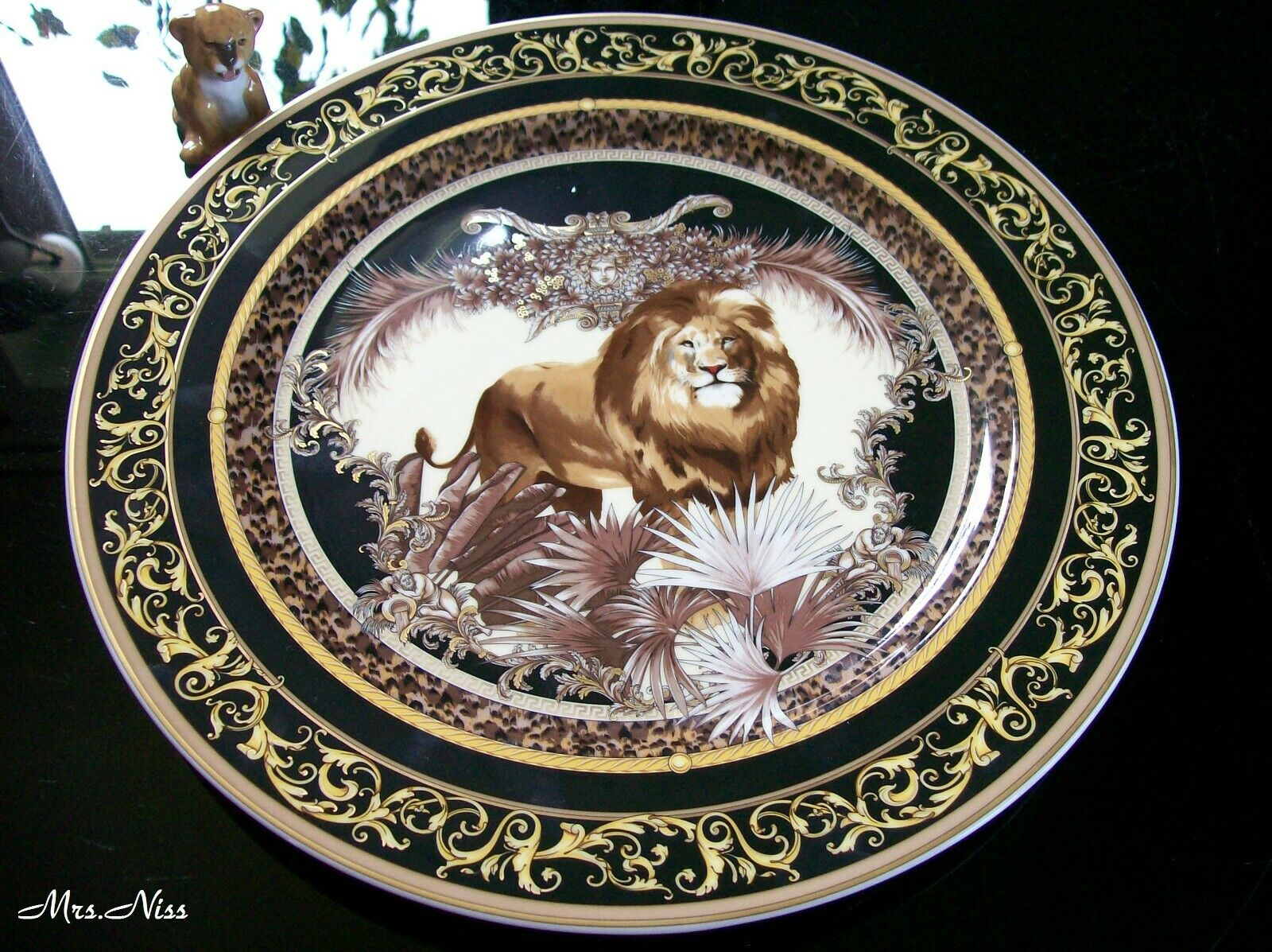 ROSENTHAL VERSACE le régne animal William place assiettes assiettes 30 cm 1 A NEUF