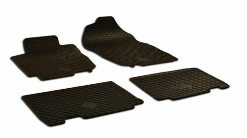 4-teilig Halter schwarz 2013-2018 Gummifußmatten passend für Toyota RAV 4