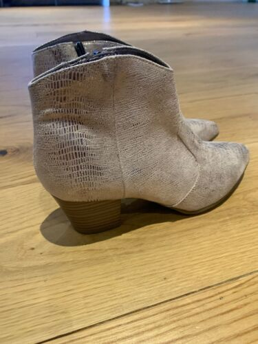 Rrp Lizard Tamaris Boots Heeled Size Ankle 37 Brand New Leather 00 £130 wTSqxgag