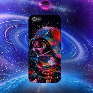 STAR-Wars-Darth-Vader-colorato-telefono-Cover-si-adatta-iPhone-e-Samsung-Modelli