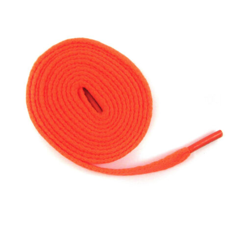 9mm FLAT WIDE SHOE LACES *8 LENGTHS /& 32 COLOURS* SNEAKERS SKATE BOOTS TRAINERS