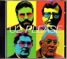 U2 please CD maxi-single 1997 USA w/4 live tracks