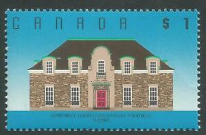 Canada Year 1989 Architecture # 1181 $1.00 Mint NH