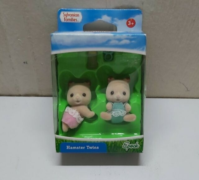 Sylvanian Families Hamster Twins New In Packet #5123