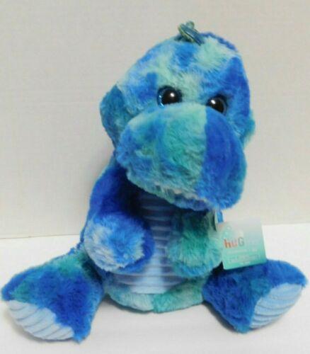 Details about  /Dinosaur Stuffed Plush Blue Green Tie Dye 10 Inch