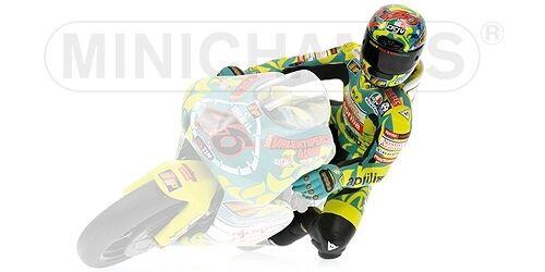 1999 1:12 Model MINICHAMPS Valentino Rossi Riding Figure GP 250 Mugello W.C