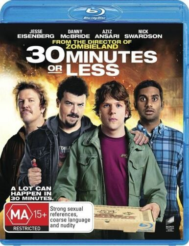 1 of 1 - 30 Minutes Or Less (Blu-ray, 2012)