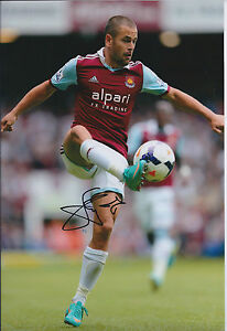 Joe-COLE-SIGNED-COA-Autograph-12x8-Photo-AFTAL-West-Ham-United-England-GENUINE