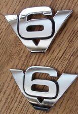 V6 EMBLEM BRAND NEW OEM V6 EMBLEM 2006 FORD ESCAPE 3.0L DOHC 24V #7L8Z-7842528-A