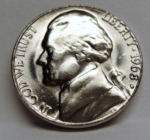 1987 D BU Jefferson Nickel Pulled From OBWRoll