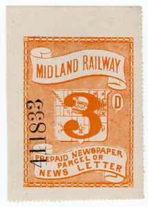 I-B-Midland-Railway-Prepaid-Newspaper-or-News-Letter-3d-large-format