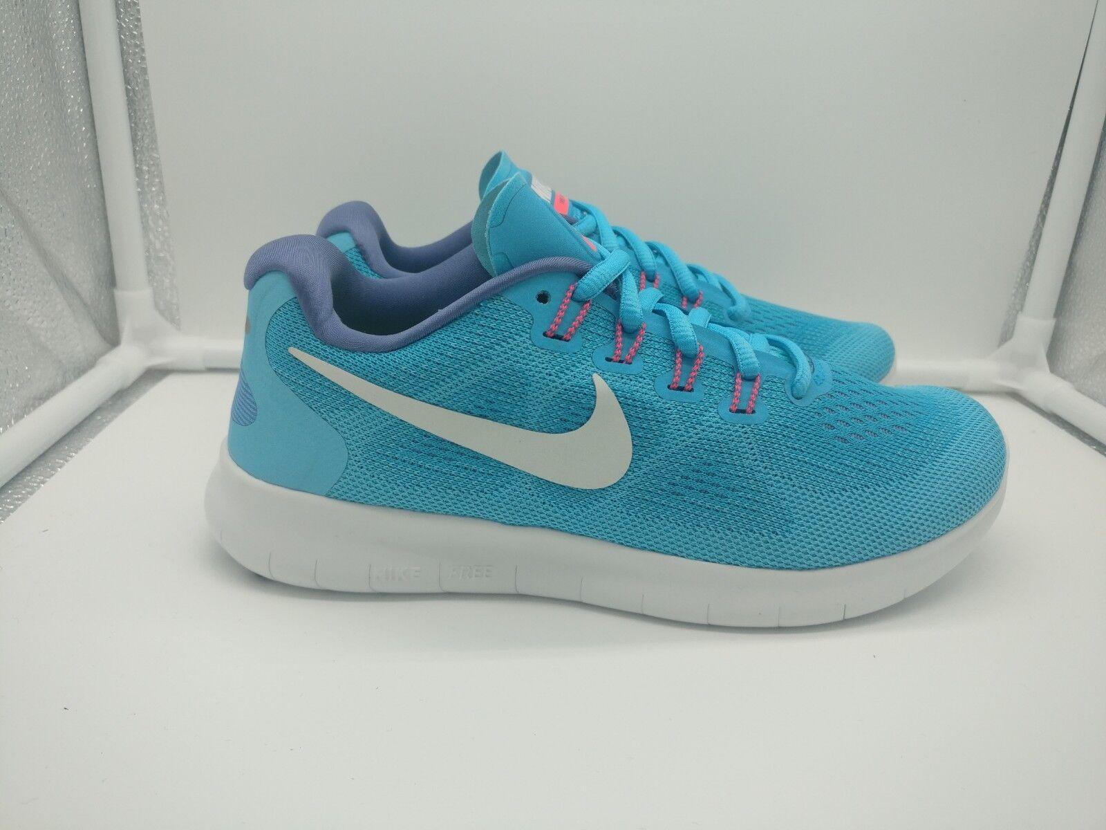 Nike Nike Nike de mujer libre rn 2017 ejecutar Reino Unido 2.5 Azul cloro blancoo Apagado 880840-400  Venta barata