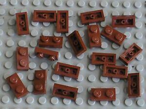 20-x-plaque-plate-LEGO-RedBrown-1x2-ref-3023-10193-10199-7257-7785-4766-7662