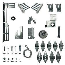 9x9 or 8x9 Hinges Rollers Heavy Duty Garage Door Hardware Kit Brackets