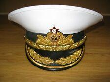Soviet Russian Navy Admiral Visor Cap Hat USSR Military Uniform