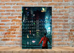 Details about Altered Carbon TV Show Poster or Canvas Art Print - A3 A4  Sizes