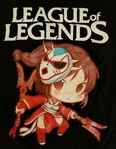 MEDIUM-League-Of-Legends-T-shirt-Punk-Rock-Retro