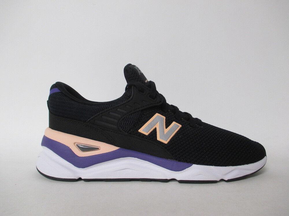 New balance x90 schwarze violet pfirsich weiße sz 9,5 msx90crb