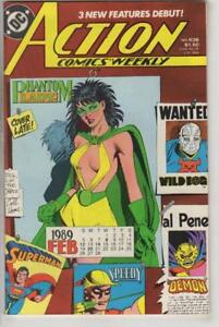 ACTION-COMICS-636-VF-NM-Superman-DC-1938-Phantom-Lady-more-in-store