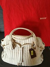 NWT Bally Quilted Leather Hand Bag ZAINTE/03, Orig. $1185