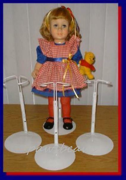 "3 NEW KAISER WHITE STANDS #3101 FOR 15-20/"" DOLLS"