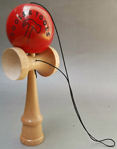 Quality-Red-Wooden-Kendama-Beech-Wood-Competition-Wood-Toy-Glistening-Finish