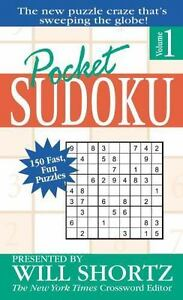 Pocket-Sudoku-Presented-by-Will-Shortz-Volume-1-150-Fast-Fun-Puzzles-by