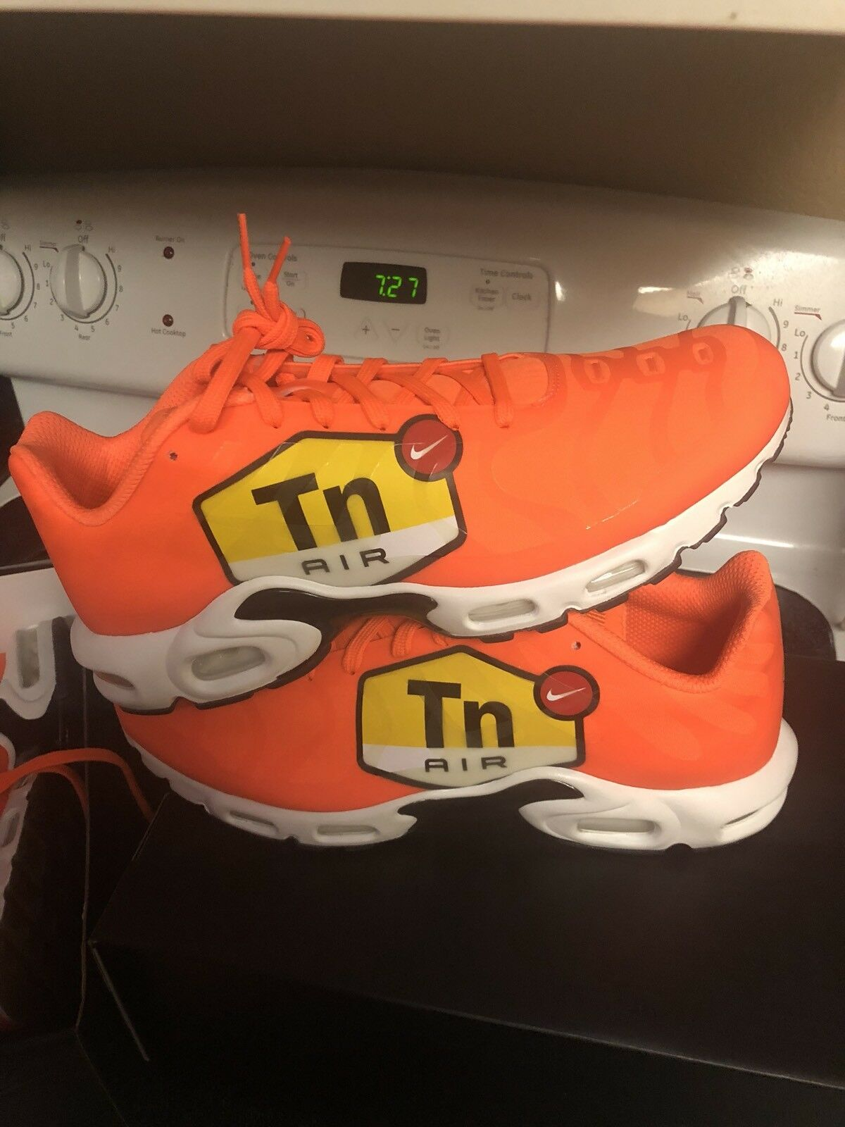 Nike Air Max Plus TN Tuned 1 NS GPX Big Logo Orange AJ7181-800 Sz 13 97 98 1 95
