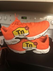 Details about Nike Air Max Plus TN Tuned 1 NS GPX Big Logo Orange AJ7181 800 Sz 12.5 97 98 1